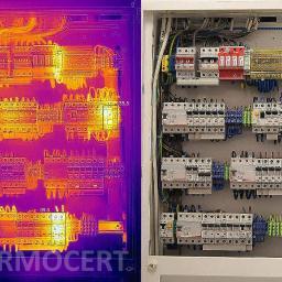 Badania termowizyjne TERMOCERT - Rzeczoznawca budowlany Józefów