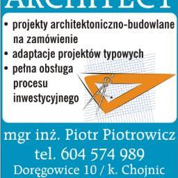 Architect - projekty budowlane - Adaptacja Projektu Gotowego Chojnice