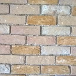 Sciana z cegły - zbliżenie