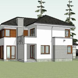KOMFORTOWY - Piętrowy dom jednorodzinny
