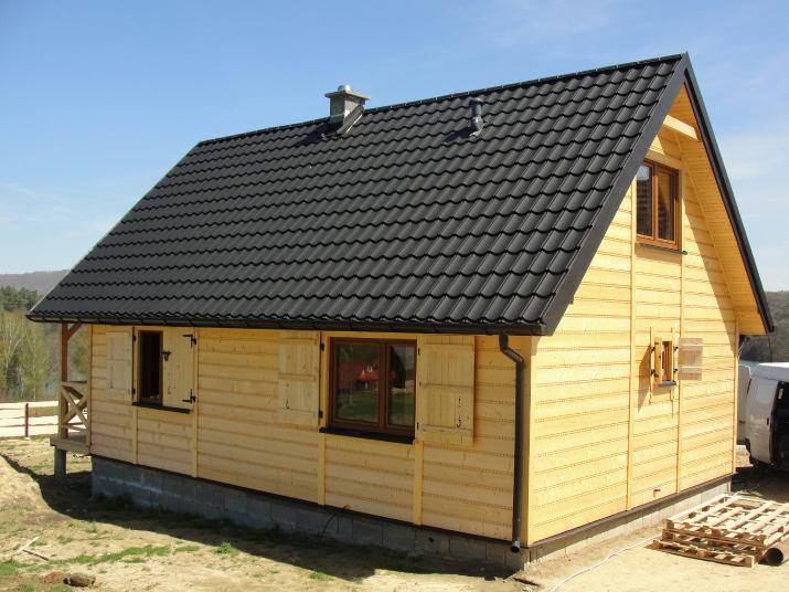 Modernistyczne Zlecę budowę domku letniskowego, pow. 35m2 Kazimierz Dolny AO55