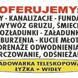 Roboty ziemne Zbigniew Omasta - Fundament Brzeg