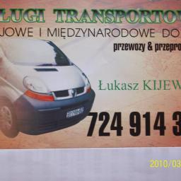 Usługi Transportowe Łukasz Kijewski - Przeprowadzki Nowa Wieś