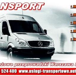 Lokalne i krajowe usługi transportowe i przeprowadzki TAXI BAGAŻOWE TRANSPORT BAGAŻÓWKA
