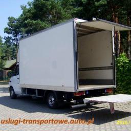 Usługi transportowe Przeprowadzki Transport Taxi bagażowe Bagażówka Warszawa cały kraj VAT