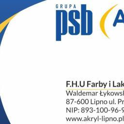 F.H.U. FARBY I LAKIERY AKRYL WALDEMAR ŁYKOWSKI - Chemia budowlana Lipno