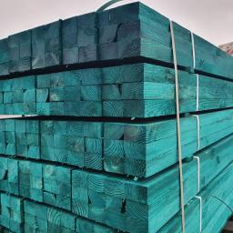 Łata konstrukcyjna, łata impregnowana, drewno konstrukcyjne