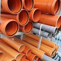 Rury kanalizacyjne, rury PCV, PVC, kanalizacja wewnętrzna, zewnętrzna