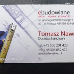 EBUDOWLANE Tomasz Nawrocki - Materiały ociepleniowe Mrocza