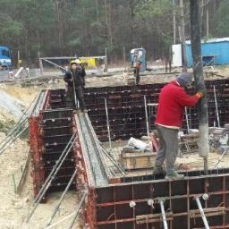 Budowa Wawer żelbet 11.2015r