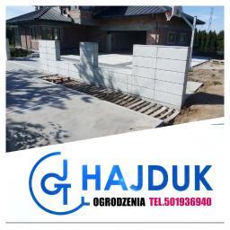 """F.H.U """"Hajduk """" S.C - Przęsła Ogrodzeniowe Betonowe Tarnów"""