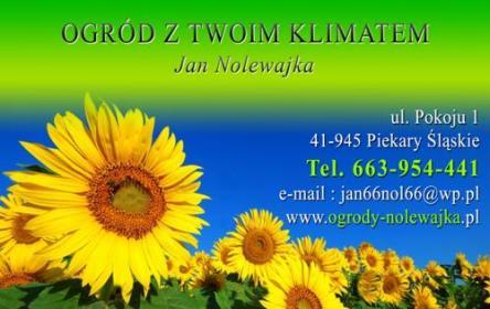 """""""Ogród z Twoim Klimatam"""" Jan Nolewajka - Odśnieżanie Dróg Piekary Sląskie"""