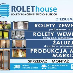 F.U. ROLEThouse - Żaluzje, moskitiery Rybna