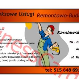 Kompleksowe Usługi Remontowo-Budowlane - Malowanie Mieszkań Klukowo