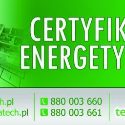 Certyfikaty energetyczne - termaTECH Bydgoszcz - Kierownik budowy Bydgoszcz