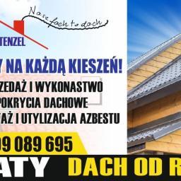 INVEST DACH STENZEL - Krycie dachów Kobysewo