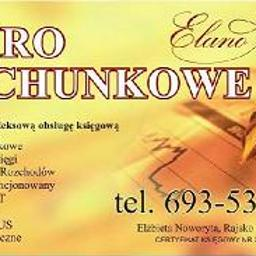 Biuro Rachunkowe ELANO Elżbieta Noworyta - Usługi Księgowe Rajsko