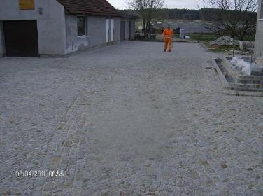 Usługi Brukarskie - Schody kamienne Nowa Sól