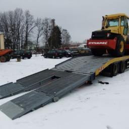 Autoholowanie & Usługi transportowe - Transport ciężarowy krajowy SZCZECIN