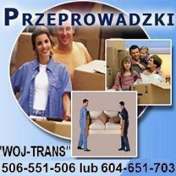 WOJ-TRANS Przeprowadzki-Transport - Usługi Przeprowadzkowe Białystok
