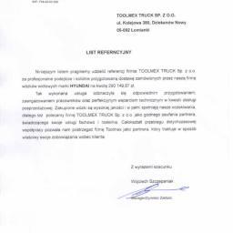Referencje Hamburger Recycling Polska Sp. z o.o.