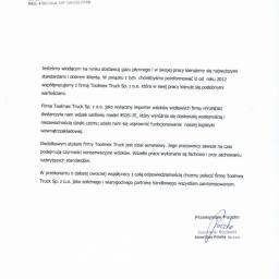 Referencje AmeriGas Polska Sp. z o.o.