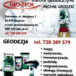 GEO-TECH Usługi Geodezyjne - Usługi Geologiczne Zakrzewo