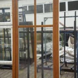 Okna PCV_wystawowe_1/2 złoty dąb 190x100