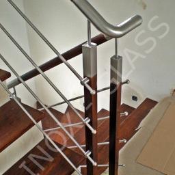 Inox-Glass. Balustrady ze stali nierdzewnej, barierki, poręcze - Wykonanie Schodów Metalowych Legionowo