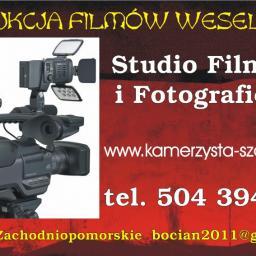 PRACOWNIA FILMOWA Ślub i Wesele Kamerzysta Szczecin Zachodniopomorskie - Kamerzysta Szczecin
