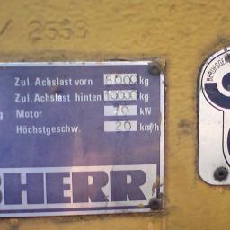 Liebherr 902 Ladowarka hydrauliczna na czesci !