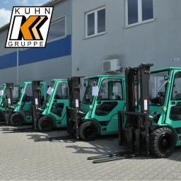 KUHN-Polska Sp. z o.o. Sprzedaż, serwis, wynajem - Mitsubishi, Ulma, Carer