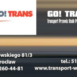 GO! TRANS Transport Przewóz Osób Przeprowadzki - Przeprowadzki Wrocław
