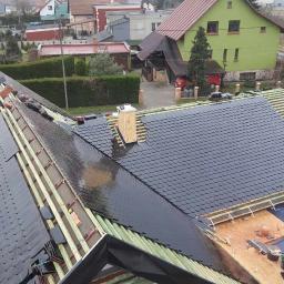 Dekarstwo-Blacharstwo-Utylizacja AZBESTU - Krycie Dachu Blachodachówką Wscchowa