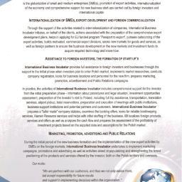 International Business Incubator - Fundusze Unijne Warszawa