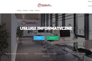 BPtech.pl - usługi informatyczne - Pozycjonowanie stron Goleniów (Szczecin)