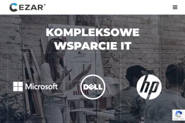 Cezar. Sp. z o.o. Sprzedaż, dystrybucja sprzętu i oprogramowania komputerowego - Komputery i laptopy Warszawa