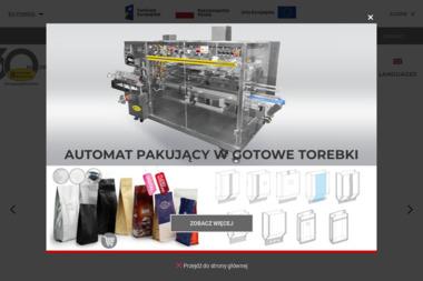 Coffee Service. Sp. z o.o. Maszyny pakujące, palarnie kawy, opakowania - Cukiernia Warszawa