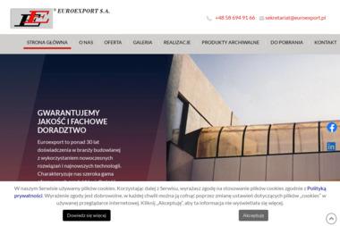 Euroexport. Sp. z o.o. Poliwęglanowe świetliki - Montaż płyt warstwowych Sopot