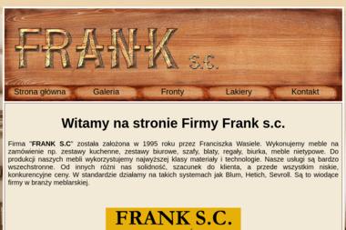 FRANK S.C. Usługi Stolarskie. - Nowoczesny Mebel Wrocław