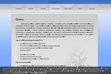 Geocentr. Sp. z o.o. Geodezja, kartografia, wycena nieruchomości - Geodeta Człuchów