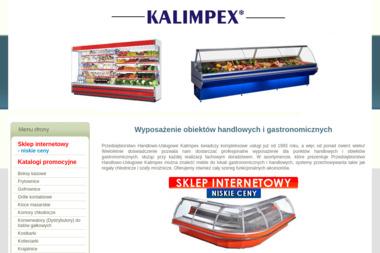 Kalimpex. Wyposażenie sklepów, urządzenia chłodnicze, klimatyzacja - Centrale Wentylacyjne Tychy