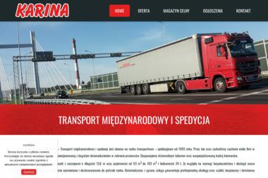 Karina - Firma transportowa Przemyśl