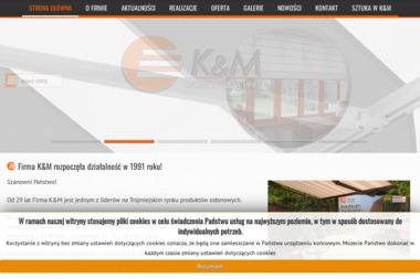 K & M. Rolety, żaluzje, markizy - Rolety na Okna Gdańsk