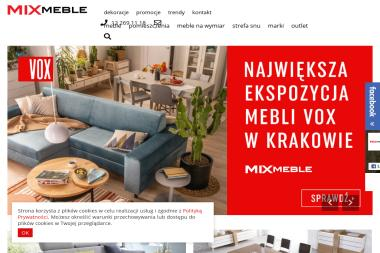 Mix Meble. Centrum handlowe - Nowoczesne Meble Kraków