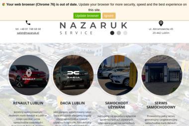 Renault Nazaruk Service - Samochody osobowe używane Lublin