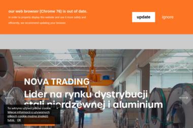 Nova Trading SA - Huty metali, walcownie Toruń