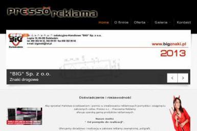 Presso SC. Pracownia reklamy - Kosze prezentowe Zielona Góra