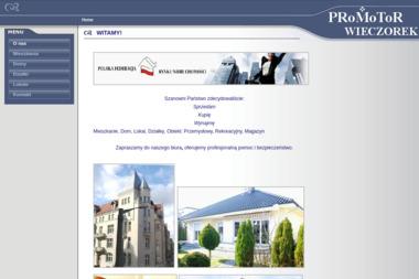 Promotor-Wieczorek. Biuro obrotu nieruchomościami - Mieszkania Poznań