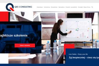 Qes Consulting. Szczepański P. Szkolenia BHP, Ochrona Środowiska, Ocena ryzyka - BHP, ppoż, bezpieczeństwo Kraków
